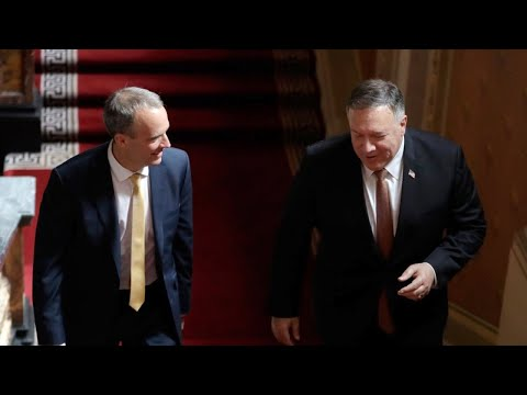 WATCH: Secretary of State Michael Pompeo and British Foreign Minister Dominic Raab speak to media