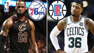 Where The Top 15 Free Agents Will Sign This NBA Off Season