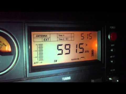 5915 khz Zambia NBC Radio 1 , Lusaka , Zambia