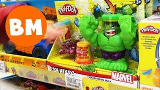 ВМ: Гуляем по ТЦ Вегас Крокус Сити и магазину игрушек, а потом играем на площадке в пожарных