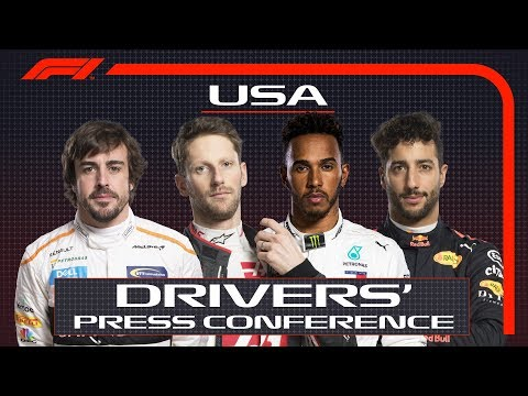 2018 United States Grand Prix: Press Conference Highlights