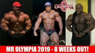 MR OLYMPIA 2019 - 8 WEEKS OUT!!