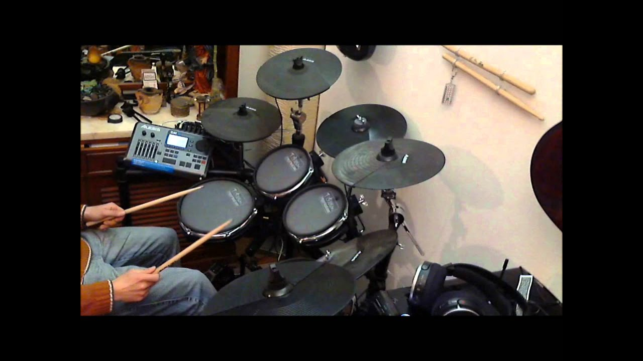 alesis dm10 mesh heads and two more cymbals test youtube. Black Bedroom Furniture Sets. Home Design Ideas