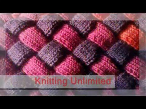 Entrelac Knitting Patterns Youtube