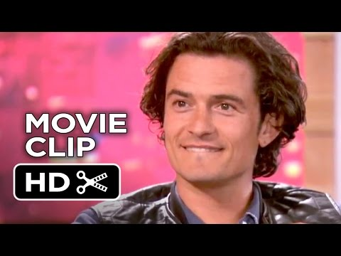 The Interview Movie CLIP - Orlando Bloom Talks 'Knight Vision' with Dave Skylark  (2014) - Movie HD