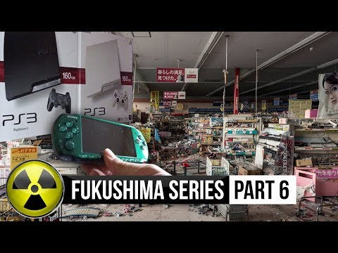 Playstations, WII's, PSP's found in abandoned Fukushima store.