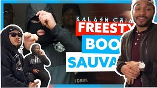 American Rappers React to French Rap | Kalash Criminel - Booska Sauvage Freestyle