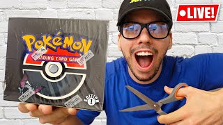 Opening The $20,000 1st Edition Pokemon Box! (Team Rocket)