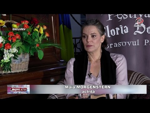Brașovul Actual 18.04.2017 Maia MORGENSTERN EXCLUSIV