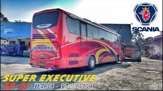 Bus Halmahera scania jetbus