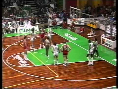 Filanto Forlì-Ranger Varese 1990-1991 115-107