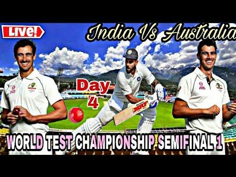 Live Cricket India Vs Australia World Test Championship Semifinal 1 Day 4