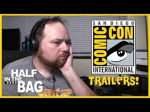 Half in the Bag Episode 150: Comic Con 2018 Full onlines