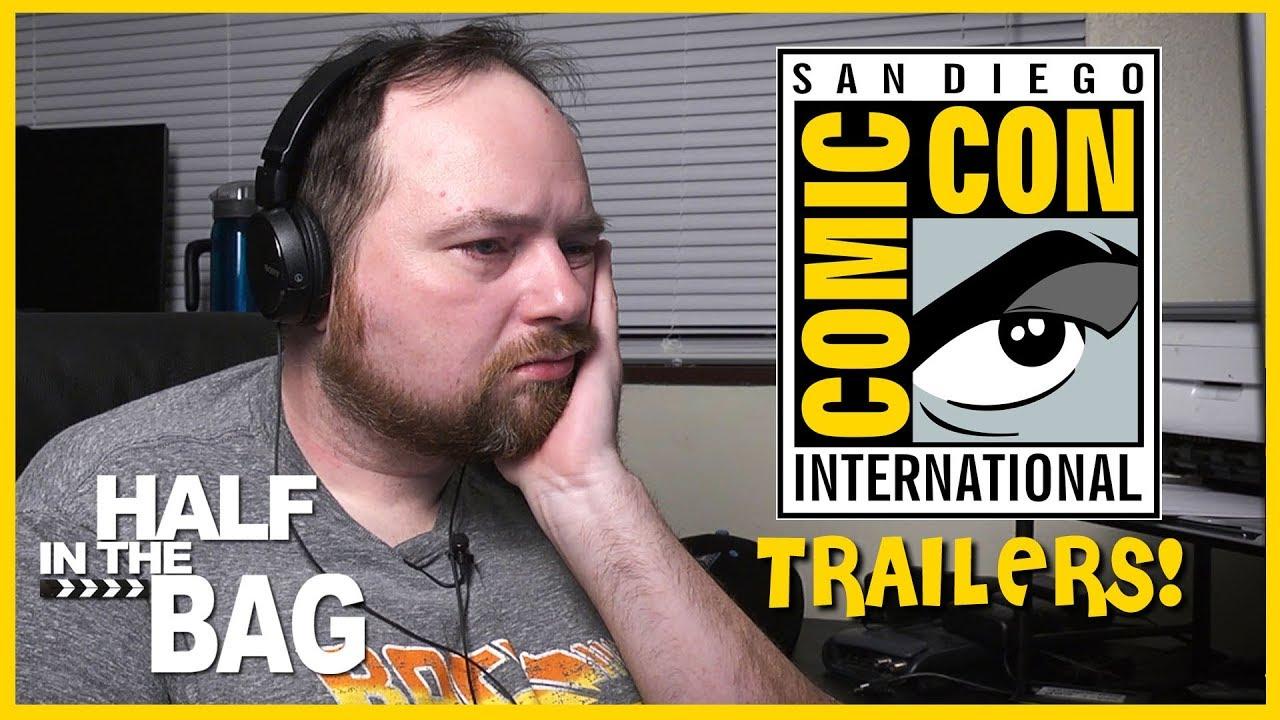 Half In The Bag Episode 150 Comic Con 2018 Trailers
