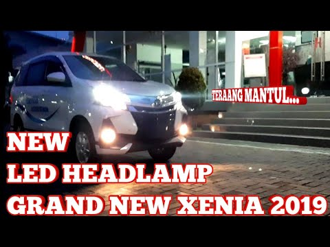 LAMPU NEW LED GRAND NEW XENIA / NEW AVANZA 2019 TERANG & MEWAH - INDONESIA