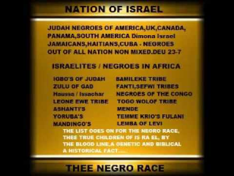 also all tribes are of the negro race youtube rh
