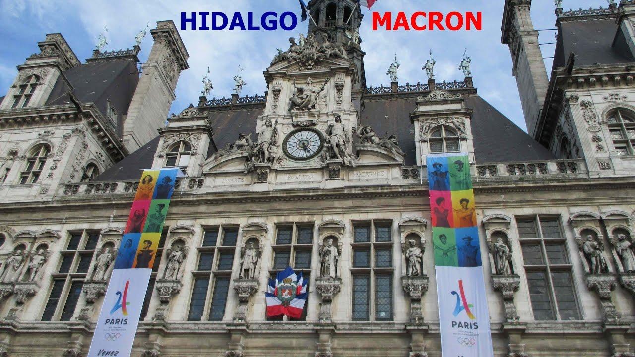 Emmanuel Macron A L Hotel De Ville