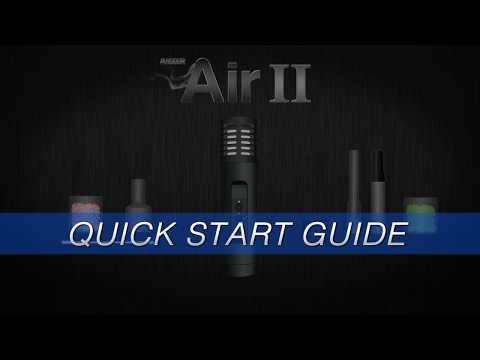 Arizer Air II – Quick Start Guide