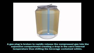 Self Cooling Beverage Container