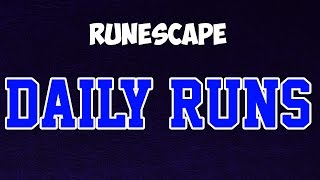 Runescape 3: Daily Runs For Free GP And XP!
