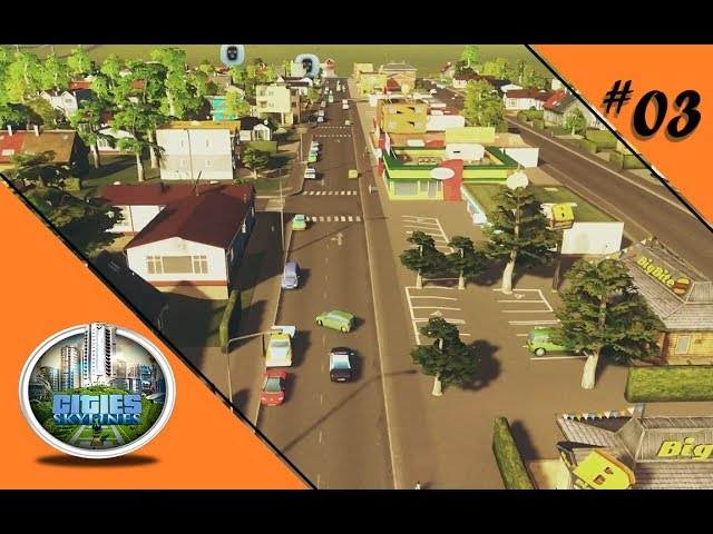 DIE POLIZEI ZIEHT IN DIE STADT 🏡 Let's Play Cities: Skylines #03