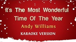 Andy Williams - It's The Most Wonderful Time Of The Year (Karaoke Version)