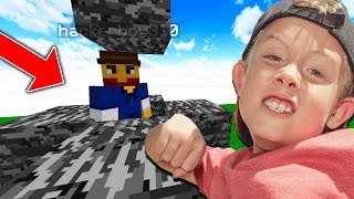 TROLLING A REAL LIFE BULLY ON MINECRAFT...