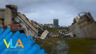 ¿Qué provocó el colapso del puente en Génova? | Venga la Alegría