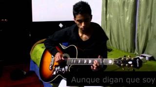 Bandolero-Don Omar & Tego Calderon- (Guitar cover-Punteos completos) Instrumental