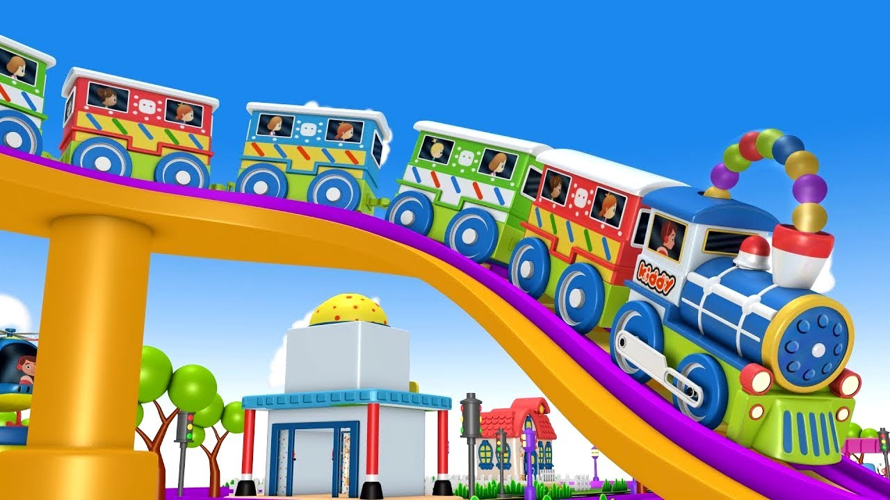 Download Toy Train Fun Ride: Toy Factory Cartoon Train for kids   Kids Videos for kids Cartoon Cartoon