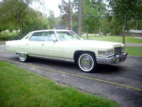 1976 Cadillac Sedan deVille - YouTube