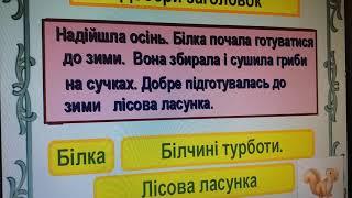 Текст.урок української мови.