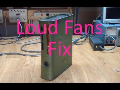 AE#35 Xbox 360 Loud Fans Repair on