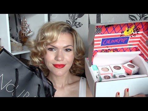 Мои покупки и посылки: Artdeco, Isadora, Colourpop.