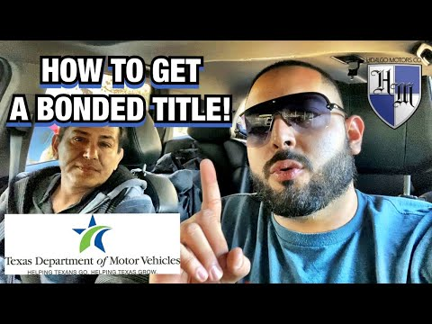 RECOVER A LOST TITLE IN TEXAS HOW TO GET A BONDED TITLE IN TEXAS GET A NEW TITLE EXPLAINED EASY