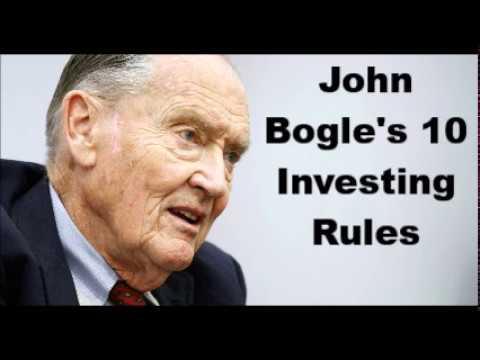 John Bogle's 10 Investing Rules