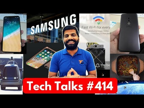 Tech Talks #414 - Samsung Bitcoin Mining, Google Assistant Hindi, Play Store Apps, Google Station