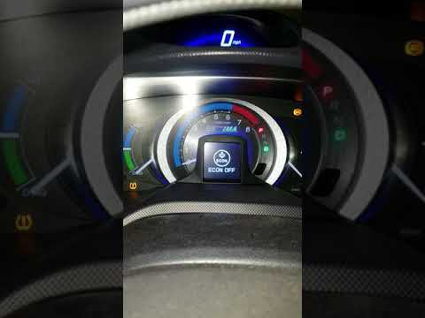 2010 Honda Insight Reset Maintenance Light