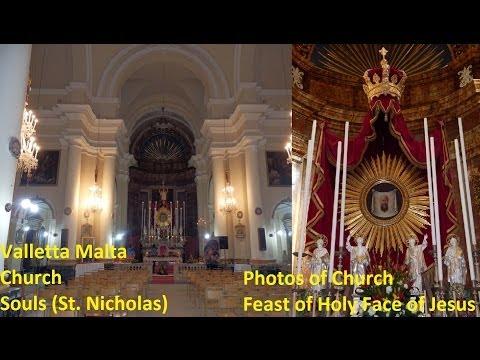 Valletta Souls St. Nicholas - Feast Face Christ - Photos 2014 - Peal 3 1,2,3,4,5 2012 - 5 Bells / 13