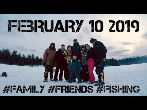 FAMILY ICE FISHING ADVENTURE~ Ontario's North Country