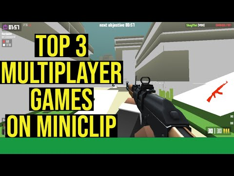 TOP 3 Multiplayer Shooting Games On Miniclip.com