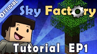 Minecraft Sky Factory Official Tutorial 1 - What Is Sky Factory? How Do I Get It?