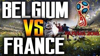 France VS Belgium Livestream Free 🤑 France vs Belgium Live World Cup 2018