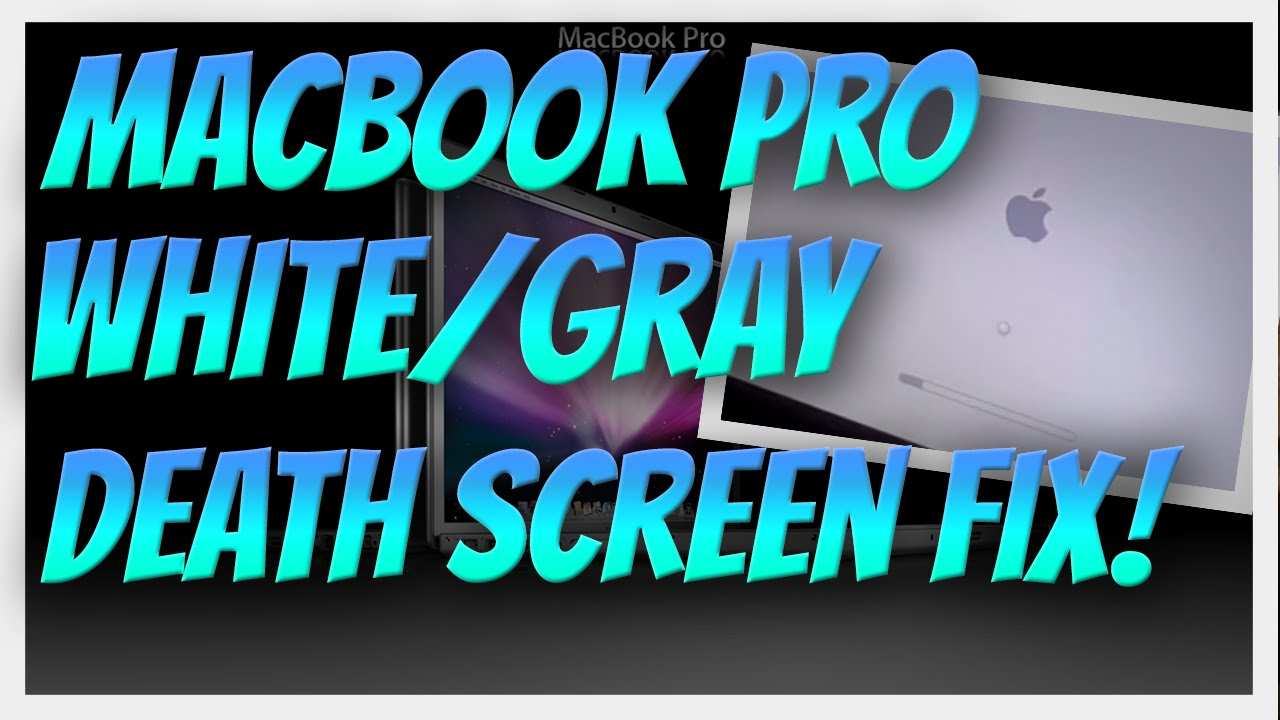 How to: Two solutions for the MacBook Pro White/Gray Logo Screen of Death   2014 AppleCare Expires