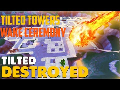 Tilted Towers Wake Ceremony Montage