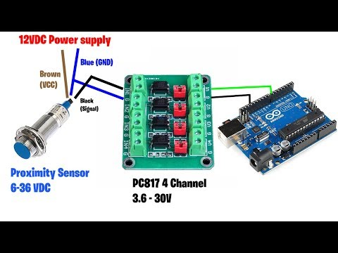 PC817 Adapter Module  With Arduino - Zonemaker.com