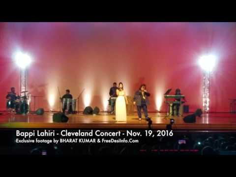 Bappi Lahiri Cleveland Concert - Nov. 19, 2016