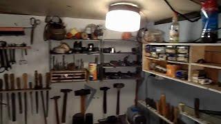 Мои варианты размещения и хранения инструментов в гараже Дачный мастер на все руки