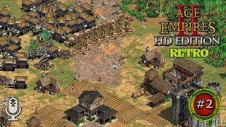 Éljen a király?! Haljon a király! –Age of Empires 2 HD Co-Op Gameplay Hun #2 (Hardest AI)