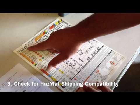 BWI UPS HAZMAT - Video 1: Identifying and Processing the HazMat ...